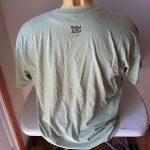 """Life Is Good Shirts - Life Is Good """"Good Moves"""" green T - mens large"""